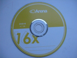 Диск Arena DVD+R 4.7 GB 16X