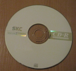 Диск SKC CD-R 800MB 90min
