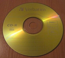 Диск Verbatim CD-R 700MB 52x 80min
