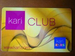 Дисконтная карта Kari Club