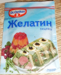 Пищевой желатин Dr. Oetker