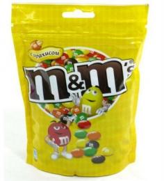 Драже M&M's с арахисом