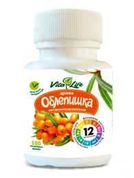 Драже витаминизированные Алтайвитамины VitaLife Облепишка