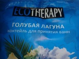 """Коктейль для принятия ванн EcoTherapy """"Голубая Лагуна"""""""