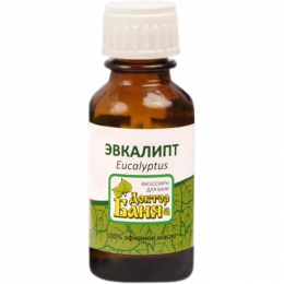 """Эфирное масло Эвкалипт Eucalyptus """"Доктор Баня"""""""