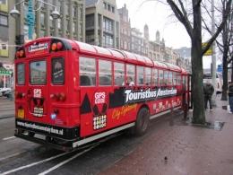 Экскурсия на туристическом автобусе по Амстердаму (Нидерланды)