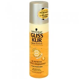 Экспресс-кондиционер для волос Schwarzkopf Gliss Kur Hair repair против сечения волос