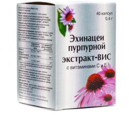 Экстракт эхинацеи пурпурной Риа Панда с витаминами С и Е