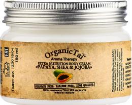 Экстрапитательный крем для тела Organic Tai Папайя, ши и жожоба