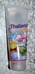 """Экзотический сахарный скраб-сияние обновляющий Magrav """"Thailand"""" Орхидея и тропические фрукты"""