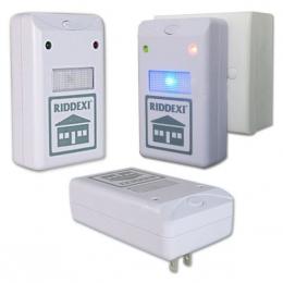 Электромагнитный и ультразвуковой отпугиватель грызунов и насекомых Riddex Plus Pest Repeller
