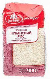 Элитный Кубанский рис Premium Quality Medium Grain Rice Агро-Альянс