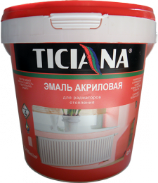 Эмаль акриловая Ticiana для радиаторов отопления белая