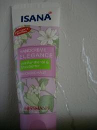 Крем для рук Isana Elegance для сухой кожи c пантенолом  и маслом  дерева ши
