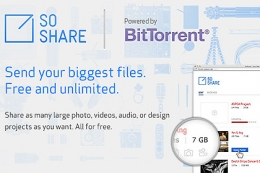 Файлообменный сервис SoShare
