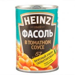 Фасоль в томатном соусе Heinz