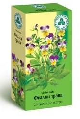 """Фиалки трава """"Красногорсклексредства"""" фильтр-пакетики"""