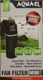 Фильтр аквариумный Aquael Fan Filter mini plus 30-60 литров.