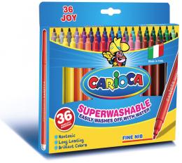Фломастеры Carioca Joy Superwashable 36 цветов
