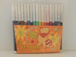 Фломастеры цветные Kinderspielwaren, 18 цветов