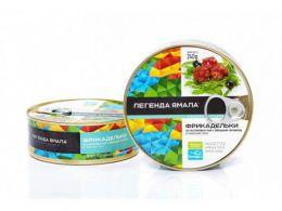 """Фрикадельки """"Легенда Ямала"""" из частиковых рыб с овощным гарниром в томатном соусе"""