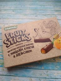 Фруктово-ореховые палочки Берестов. А. С. Galagancha Fruit-sticks с миндалём, курагой и апельсином