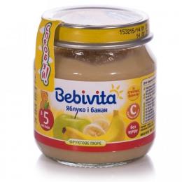 """Фруктовое пюре Bebivita """"Яблоко и банан"""""""