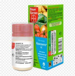 """Фунгицид для защиты овощных культур открытого грунта от болезней Bayer """"Консенто КС"""""""