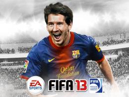 Футбольный симулятор FIFA 2013 для iPad