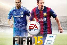 Футбольный симулятор FIFA 15 для PSP