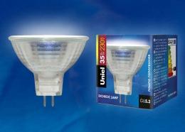 Галогенная лампа Uniel JCDR-35/GU5.3