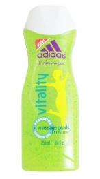 Гель для душа Adidas for women Vitality Hydrating Shower Gel с массажными частицами