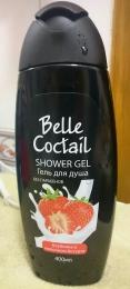 Гель для душа Belle Coctail Клубника в молочном йогурте
