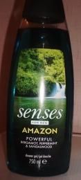 """Гель для душа мужской Avon Senses Amazon """"Сила притяжения"""""""