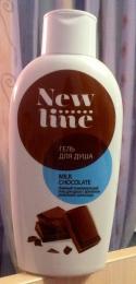"Гель для душа ""New line"" Milk Chocolate"