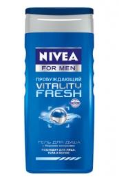 """Гель для душа Nivea for men Vitality Fresh """"Пробуждающий"""" с морскими минералами"""