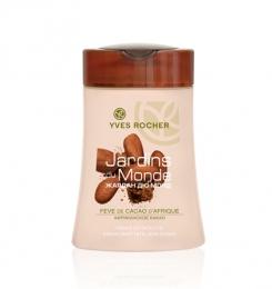 "Гель для душа Yves Rocher Les Jardins du Monde ""Африканское какао"""