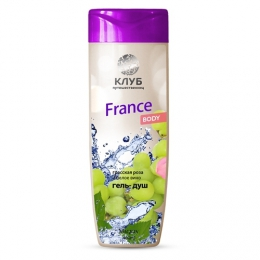 """Гель-душ Magrav """"France"""" Body грасская роза и белое вино"""
