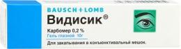 """Гель глазной """"Видисик"""" Bausch+Lomb"""