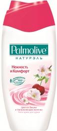 """Гель-крем для душа Palmolive Натурэль """"Нежность и комфорт"""" Цветок вишни и увлажняющее молочко"""