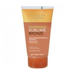 Гель автозагар L'OREAL Sublime Bronze прохладная свежесть