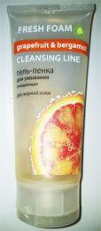 Гель-пенка для умывания Magrav розовый грейпфрут и бергамот
