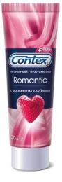 Гель смазка Contex plus romantic с ароматом клубники