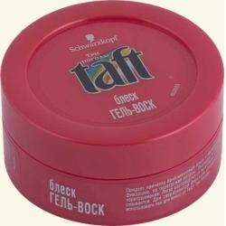 Воск для волос taft гель для