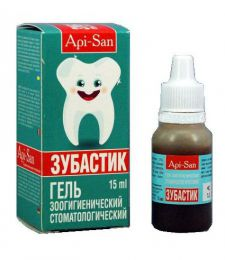 """Гель зоогигиенический стоматологический """"Зубастик"""" Api-San"""