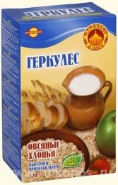"""Геркулес """"Русский продукт"""" овсяные хлопья быстрого приготовления"""