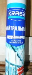 Герметик силиконовый нейтральный бесцветный Krass All type of construction