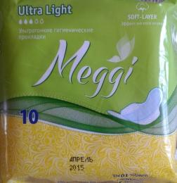 Гигиенические прокладки Meggi Ultra Light