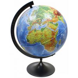 Глобус Земли Globen физический рельефный диаметр 250 мм