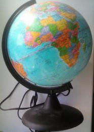 """Глобус с подсветкой """"Глобусный мир"""" политическая карта"""